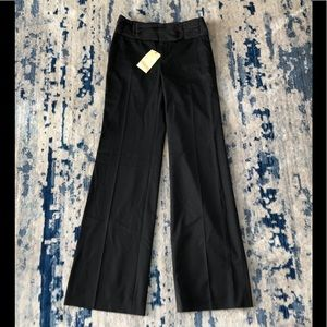 NWOT Anthro Elevenses Wide Tuxedo Waist Pants Sz 2